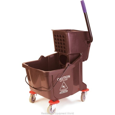 Carlisle 3690469 Mop Bucket Wringer Combination (Magnified)