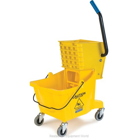 Carlisle 3690804 Mop Bucket Wringer Combination (Magnified)