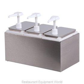 Carlisle 38503 Condiment Dispenser, Pump-Style