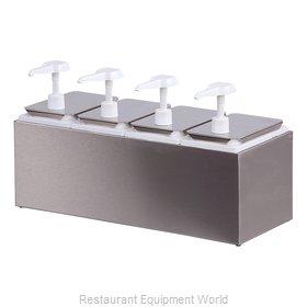 Carlisle 38504 Condiment Dispenser, Pump-Style