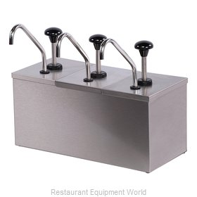 Carlisle 386230IB Condiment Dispenser, Pump-Style