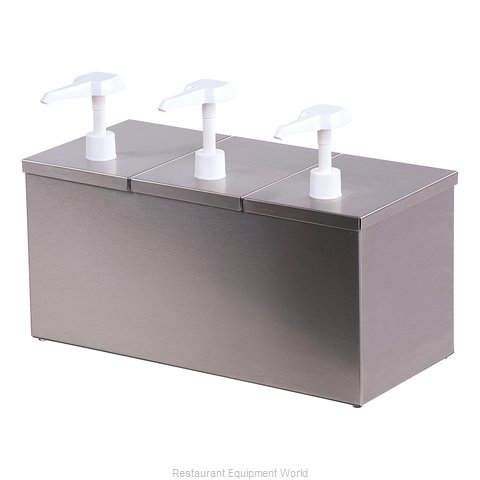 Carlisle 38623IB Condiment Dispenser, Pump-Style