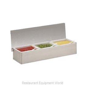 Carlisle 38704C Bar Condiment Server, Countertop