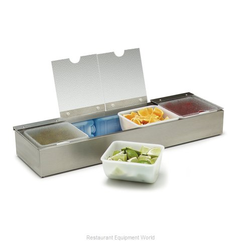 Carlisle 38704CSIB Bar Condiment Server Countertop