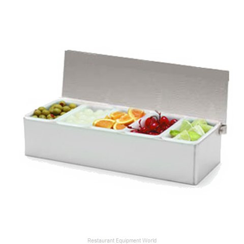 Carlisle 38705C Bar Condiment Server Countertop