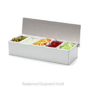 Carlisle 38705C Bar Condiment Server, Countertop