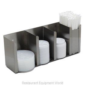 Carlisle 388804L Lid Dispenser, Countertop