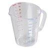 Taza Medidora, Plástico <br><span class=fgrey12>(Carlisle 4314407 Measuring Cups)</span>