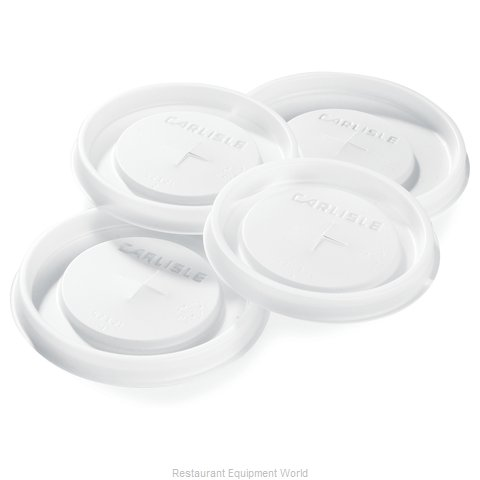 Carlisle 5506L30 Lid Disposable Cup (Magnified)