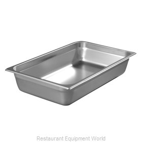 Carlisle 608004 Steam Table Pan, Stainless Steel