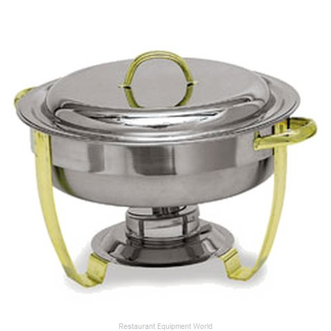 Carlisle 609530 4 Qt. Capacity Round Chafer (Magnified)