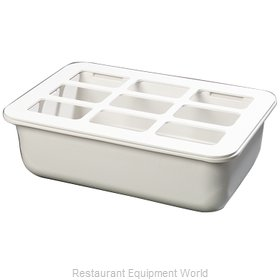 Carlisle CM104902 Food Pan Holder, Refrigerant Filled