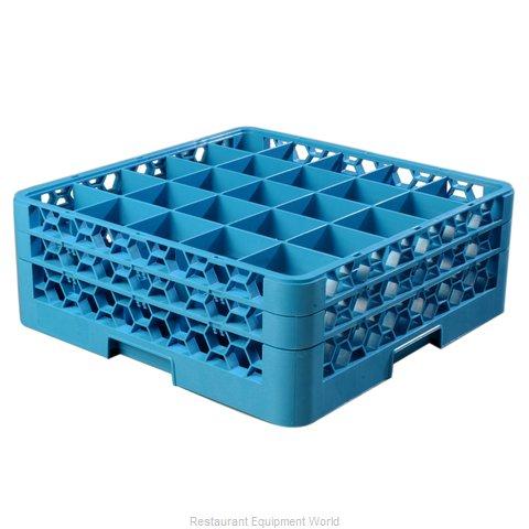 Carlisle RG25-214 Dishwasher Rack, Glass Compartment