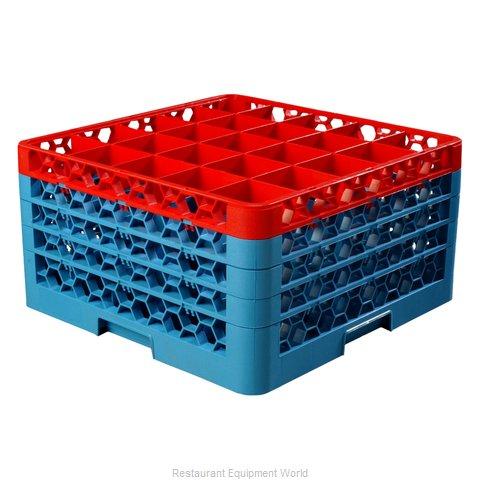 Carlisle RG25-4C410 Dishwasher Rack, Glass Compartment