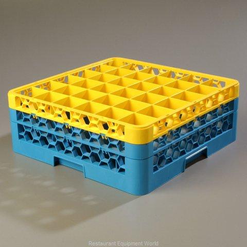 Carlisle RG36-2C411 Dishwasher Rack, Glass Compartment
