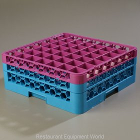 Carlisle RG49-2C414 Dishwasher Rack, Glass Compartment