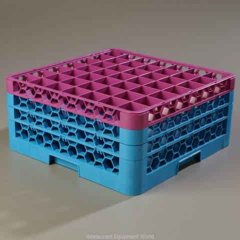 Carlisle RG49-3C414 Dishwasher Rack, Glass Compartment