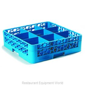 Carlisle RG9-114 Dishwasher Rack, Glass Compartment