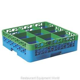 Carlisle RG9-1C413 Dishwasher Rack, Glass Compartment