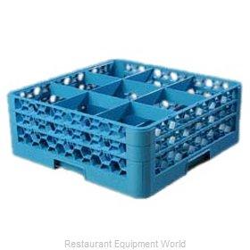 Carlisle RG9-214 Dishwasher Rack, Glass Compartment