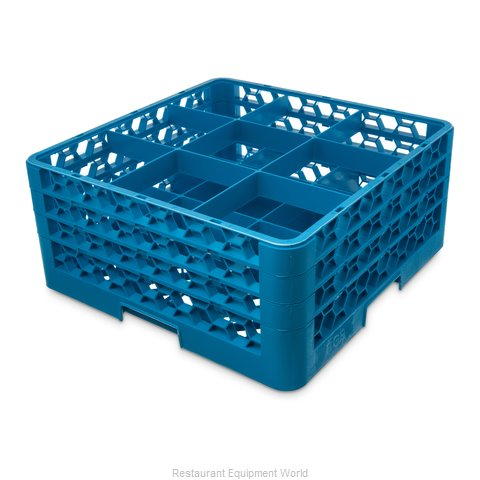 Carlisle RG9-314 Dishwasher Rack Glass Compartment (Magnified)