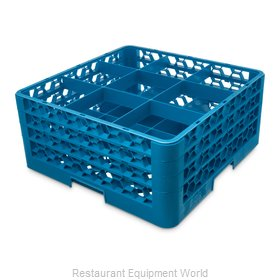 Carlisle RG9-314 Dishwasher Rack, Glass Compartment