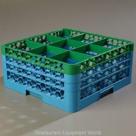 Carlisle RG9-3C413 Dishwasher Rack, Glass Compartment