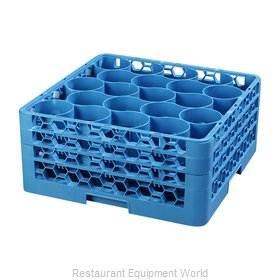 Carlisle RW20-214 Dishwasher Rack, Glass Compartment