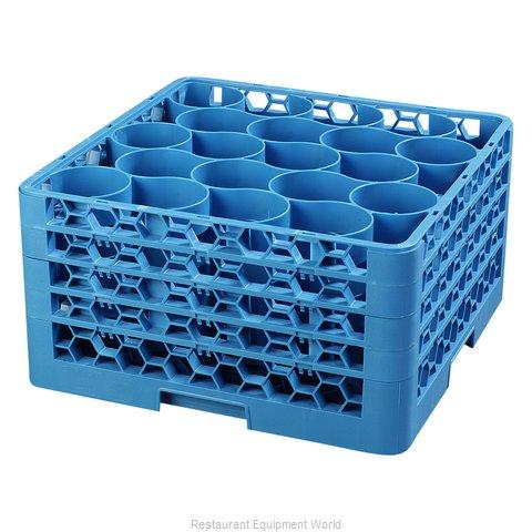 Carlisle RW20-314 Dishwasher Rack, Glass Compartment