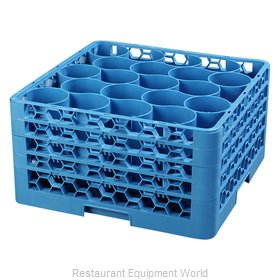 Carlisle RW20-314 Dishwasher Rack, Glass Compartment