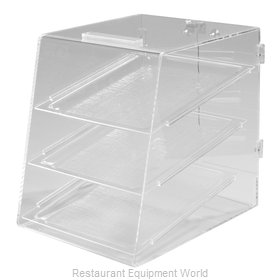 Carlisle SPD30007 Display Case, Pastry, Countertop (Clear)