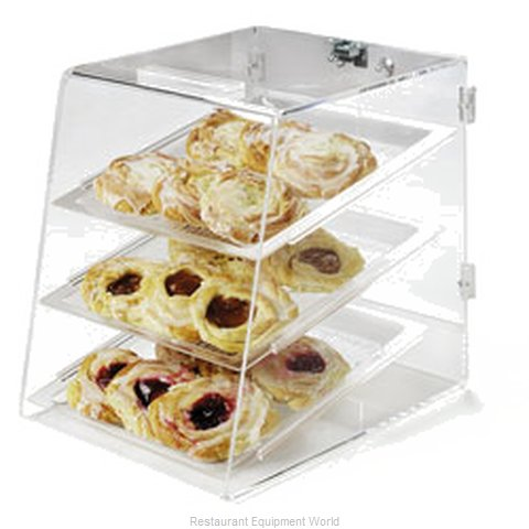 Carlisle SPD300KD07 Display Case Pastry Countertop Clear