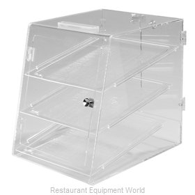 Carlisle SPD30307 Display Case, Pastry, Countertop (Clear)