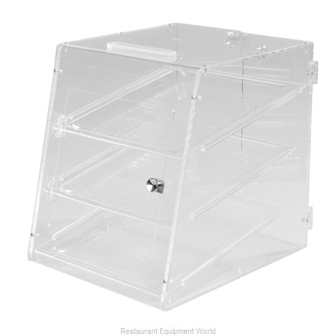 Carlisle SPD303KD07 Display Case Pastry Countertop Clear