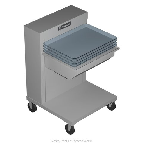 Caddy Corporation CM-1622-C Dispenser, Tray Rack (Magnified)