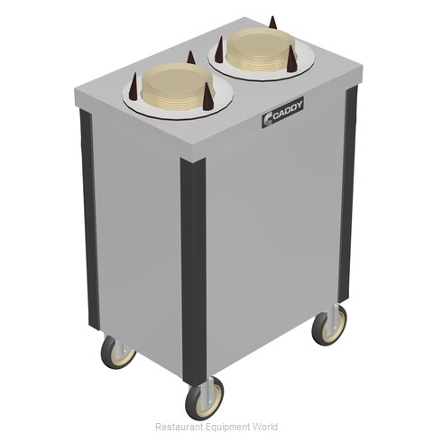 Caddy Corporation CM-S-202 Dispenser, Plate Dish, Mobile