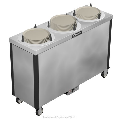 Caddy Corporation CM-S-503-H Dispenser Plate Dish Heated Round