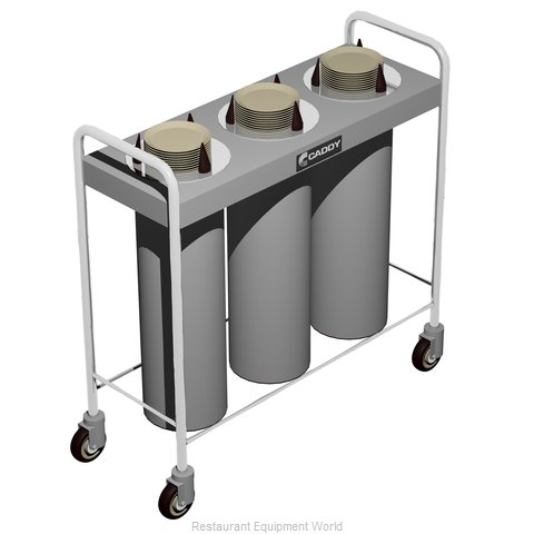 Caddy Corporation CM-T-103 Dispenser, Plate Dish, Mobile