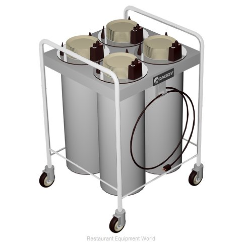 Caddy Corporation CM-T-204-H Dispenser, Plate Dish, Mobile