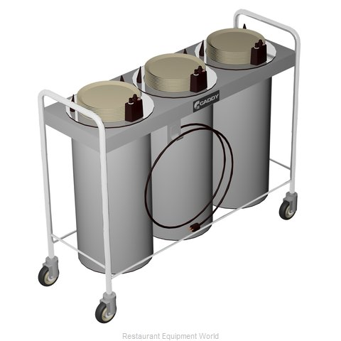 Caddy Corporation CM-T-403-H Dispenser, Plate Dish, Mobile