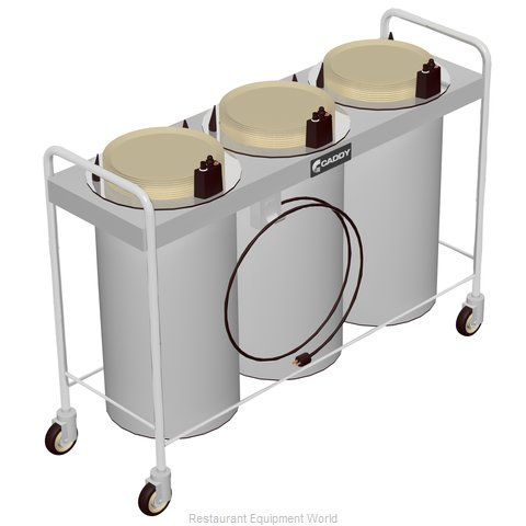 Caddy Corporation CM-T-503-H Dispenser, Plate Dish, Mobile