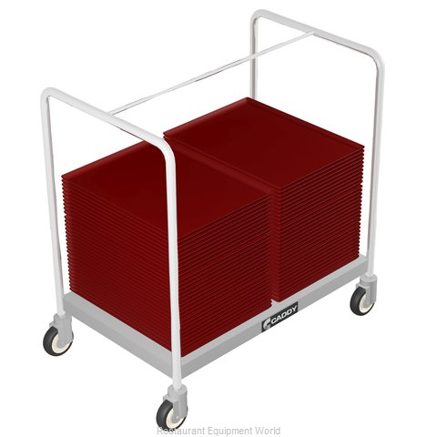 Caddy Corporation T-201-A Tray Cart, for Stacked Trays