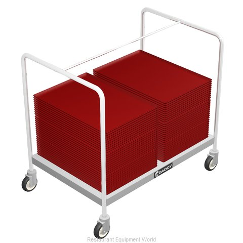 Caddy Corporation T-201-B Tray Cart, for Stacked Trays