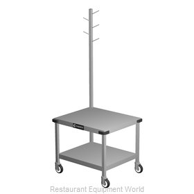 Caddy Corporation T-242 Equipment Stand, for Mixer / Slicer