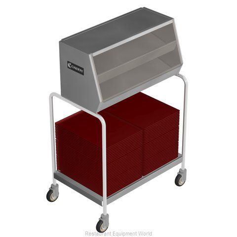 Caddy Corporation T-303 Tray and Silver Cart