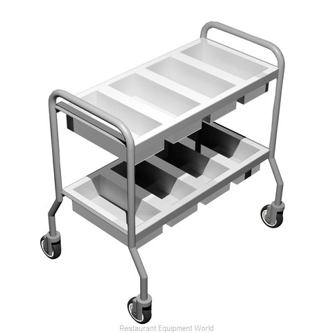 Caddy Corporation T-305 Silver Cart