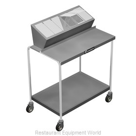 Caddy Corporation T-330 Cart, Condiment