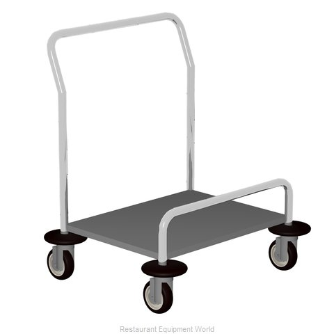 Caddy Corporation T-40 Tray Cart for Stacked Trays