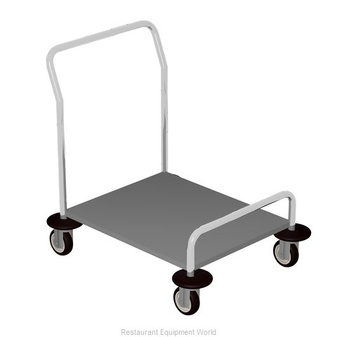 Caddy Corporation T-45 Tray Cart for Stacked Trays
