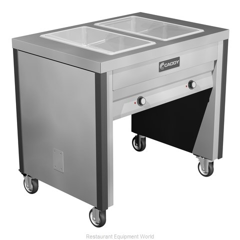 Caddy Corporation TF-602 Serving Counter Hot Food Steam Table Electric